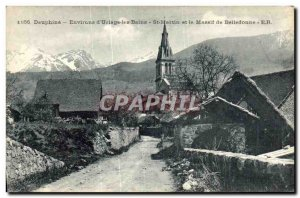 Old Postcard Environs of Uriage les Bains St Martin and Belledonne