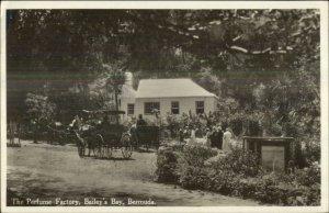 Bailey's Bay Bermuda Perfume Factory A.J. Gorham Used Real Photo Postcard