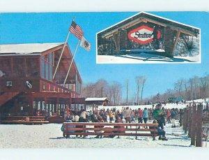 Chrome SKIING SCENE Stratton - Near Wardsboro & Brattleboro Vermont VT AG5126