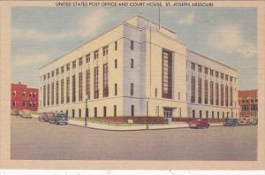 Missouri St Joseph Post Office and Court House