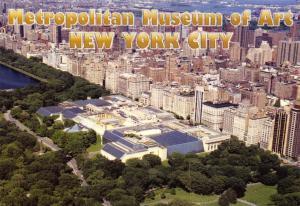 Postcard Metropolitan Museum of Art, New York City, USA, United States J73