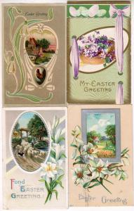 4 - Easter Cards with Scenes