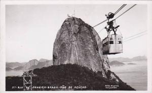 RP, Pao De Acucar, Cable Car, Rio De Janeiro, Brazil, 1920-1940s