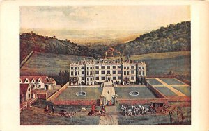 Longleat House, Painting by Jan Siberechts United Kingdom, Great Britain, Eng...