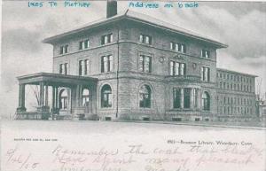 Connecticut Waterbury Bronson Library 1905