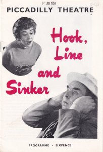 Hook Line & Sinker Comedy Bernard Cribbins 1950s Theatre Programme