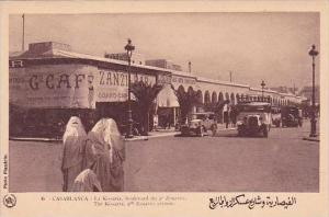 Morocco Casablanca The Kissaria 4th Zouaves Avenue 1920-30s