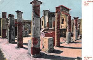 Tempio d'Iside Italy Postcard Pompei Tempio d'Iside