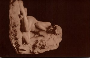 Sculpture Nude Woman Insol Bacchanta