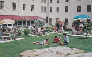 Lee Hall Patio , Blue Ridge Assembly , BLACK MOUNTAIN , North Carolina , 40-60s