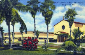 [ Linen ] US Florida Hollywood - Church Of The Little Flower