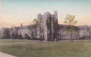 North Carolina Durham The Union Building Duke University Albertype