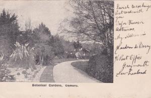 Botanical Gardens , OAMARU ,  New Zealand , PU-1905