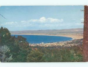 Pre-1980 MONTEREY BAY FROM CARMEL HIGHWAY Monterey CA W5603