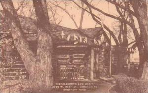 Illinois Chicago Mickelberrys Log Cabin