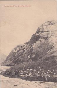 FIELD & Mt Stephens , Rockies , B.C. , Canada , 00-10s