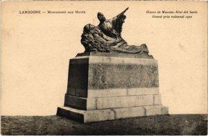 CPA LANGOGNE - Monument aux Morts (108085)