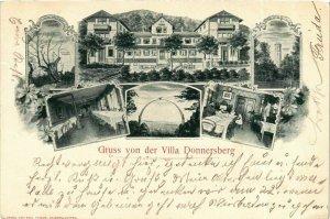 CPA AK Villa Donnersberg GERMANY (914790)