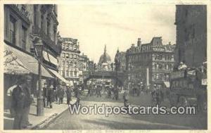 United Kingdom, UK, England, Great Britain Ludgate Circus St Pauls St Pauls L...