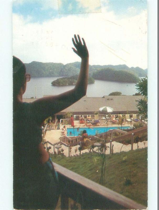 Pre-1980 NICE VIEW Previous Name - Belau Or Pelew Palau i4268