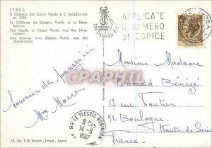 Postcard Modern Ivrea the Chateau du Verde Account and Mombarone