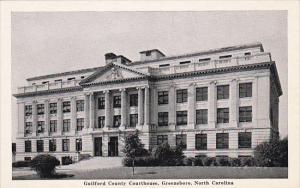 North Carolina Greensboro Guildorf County Court House