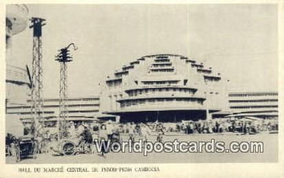 Phnom-Penh, Cambodia Cambodia, Cambodge Hall du Marche Central Phnom-Penh, Ca...