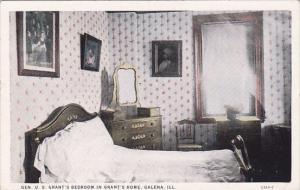 Gen U S Grants Bedroom In Grants Home Galena Illinois