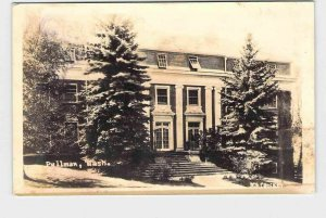 RPPC REAL PHOTO POSTCARD WASHINGTON STATE UNIVERSITY PULLMAN P.C. MCCROSKEY HALL