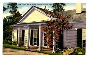 GA - Warm Springs. The Little White House