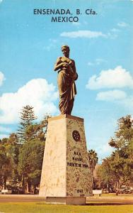 Mexico Old Vintage Antique Post Card Monument to the Mexican Mother Ensenada ...