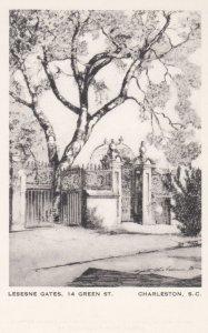 CHARLESTON, South Carolina, 1940-1950's; Lesesne Gates, 14 Green St., By Eliz...