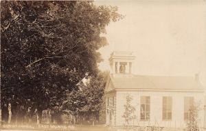 D48/ East Galway New York NY Real Photo RPPC Postcard 1911 Baptist Church