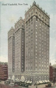 NEW YORK CITY, 1900-10s ; Hotel Vanderbilt