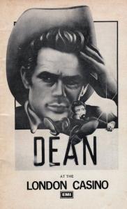 James Dean Musical London Casino Play Theatre Programme