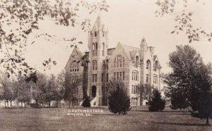RP: WINFIELD , Kansas, 1912 ; Southwestern College
