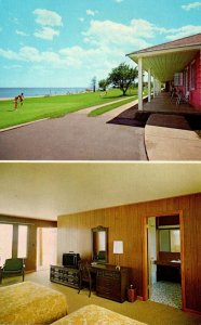Michigan Bark River Halstead's Bayside Park Motel & Restaurant