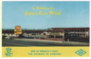Berkeley, California, View of The Golden Bear Motel & Restaurant