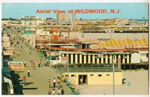 Aerial View Wildwoods by-the-Sea NJ