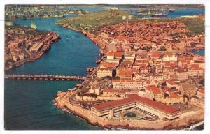 Airview of Willemstad, Curacao, shopping center and cosmopolitan vacation cap...