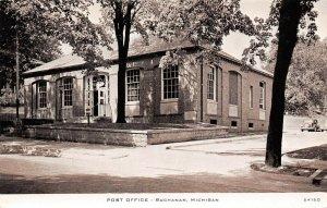 LPM16 Post Office Buchanan  Michigan Postcard C. R. Childs Printed Card