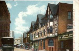 Providence RI Crown Hotel Hof Brau House c1910 Postcard