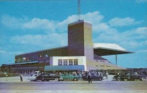 Atlantic City Race Course View Of Club House Entrance