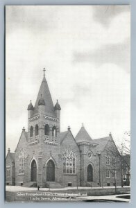 ALLENTOWN PA SALEM EVANGELICAL CHURCH ANTIQUE POSTCARD
