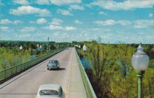 PERLEY INTERPROVINCIAL BRIDGE, Hawkesbury, Ontario, Greenville, Quebec,Canada...