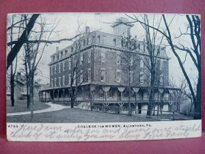 Old Postcard College for Women Allentown, PA 1908