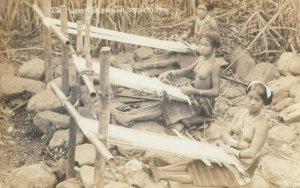 RP: PHILIPPINES , 00-10s ; Women Weaving , Igorote