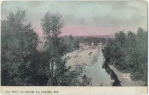 D/B View of The Wild Cat Creek La Fayette Indiana IN