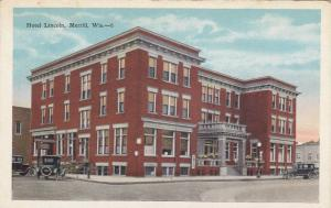 Hotel Lincoln, Merrill, Wisconsin, 1910-1920s