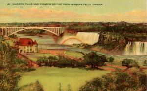 Canada - Ontario, Niagara Falls, Rainbow Bridge, Rainbow